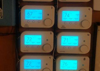Multiple remote thermostat project