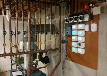 Multiple Zone Boiler-Thermostat Installation